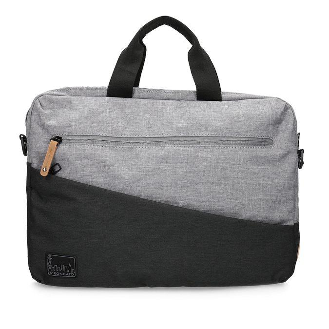 Szara torba na laptopa roncato, szary, 969-2697 - 26