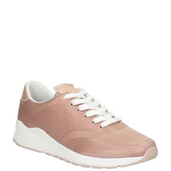 Różowe trampki damskie, różowy, 549-5605 - 13