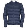 Granatowa pikowana kurtka męska bata, niebieski, 979-9114 - 13