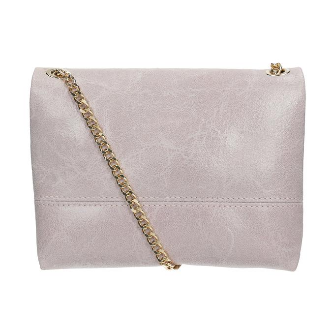 Skórzana torebka typu crossbody ze złotym łańcuszkiem bata, multi color, 964-0239 - 16