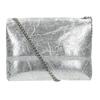 Srebrna skórzana torebka typu crossbody bata, 964-1239 - 16