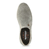 Zamszowe slip-on weinbrenner, szary, 833-8603 - 17
