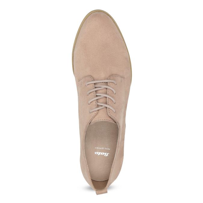 Nieformalne półbuty damskie bata, różowy, 529-5636 - 17
