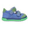 Skórzane obuwie dziecięce na rzepy bubblegummer, 116-9601 - 26