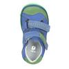 Skórzane obuwie dziecięce na rzepy bubblegummer, 116-9601 - 15