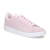 Różowe skórzane trampki damskie adidas, różowy, 503-5478 - 13