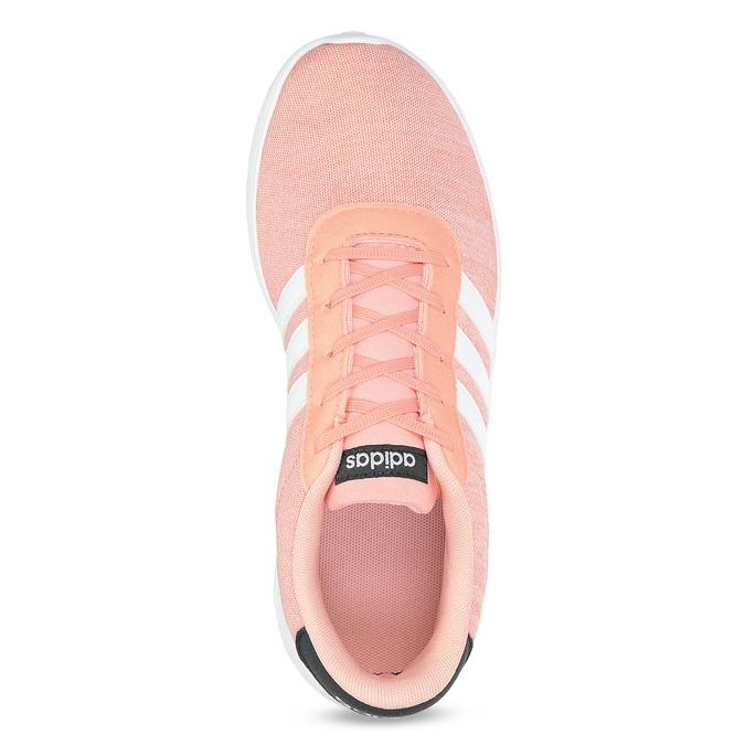 Trampki dziewczęce wkolorze łososiowym adidas, różowy, 409-5388 - 17