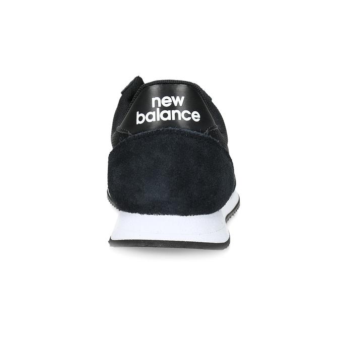 Czarne trampki damskie wsportowym stylu new-balance, czarny, 509-6871 - 15