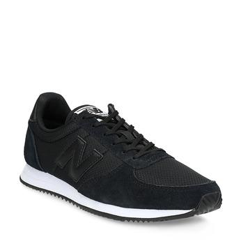 Czarne trampki damskie wsportowym stylu new-balance, czarny, 509-6871 - 13