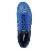 Niebieskie skórzane trampki Adidas adidas, niebieski, 803-9293 - 17