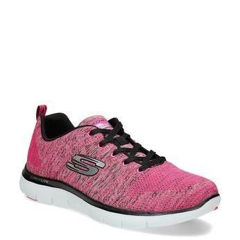 Różowe trampki Skechers skechers, różowy, 509-5530 - 13