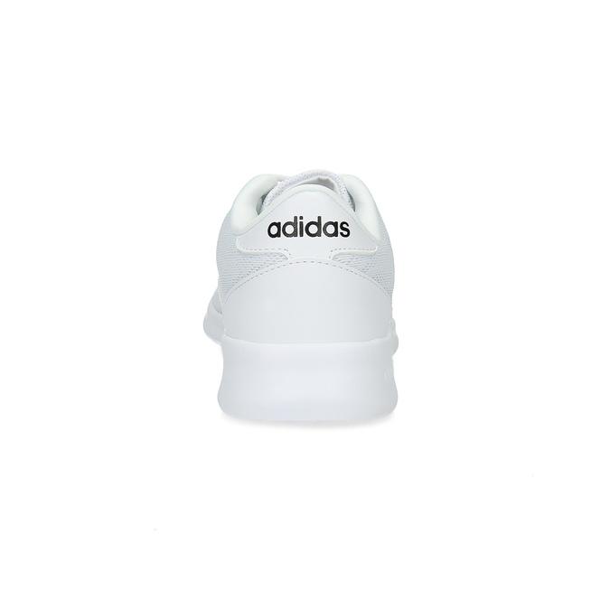 Białe trampki damskie zkoronką adidas, biały, 509-1112 - 15