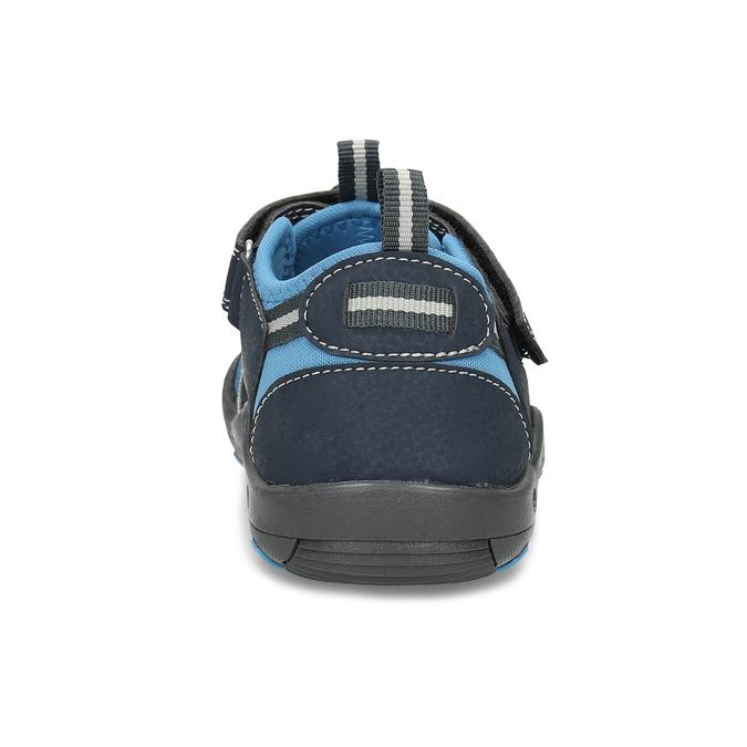 Granatowe sandały dziecięce mini-b, niebieski, 461-9606 - 15