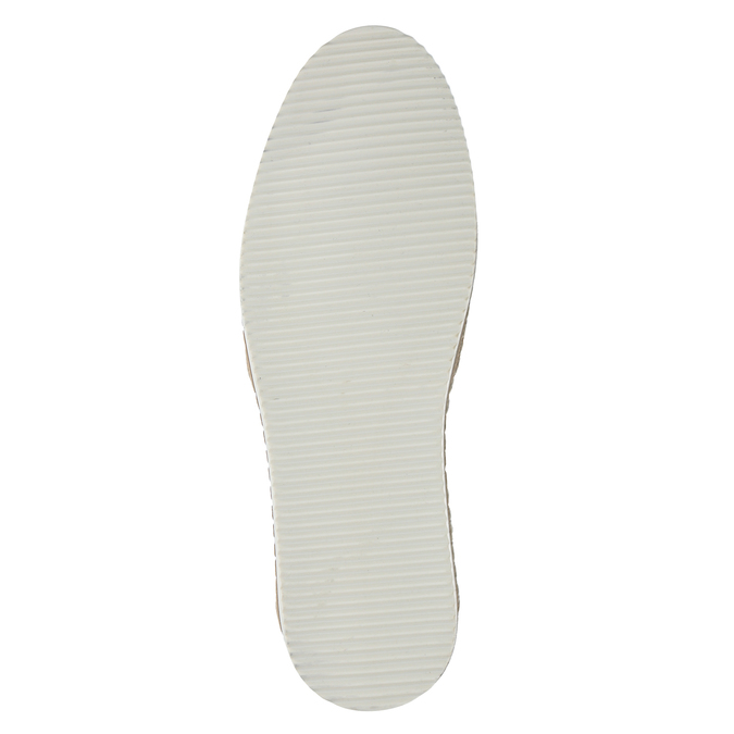 Granatowe zamszowe slip-on męskie bata, niebieski, 833-9602 - 17