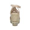Wyplatane sandały na platformie bata, różowy, 759-8633 - 15