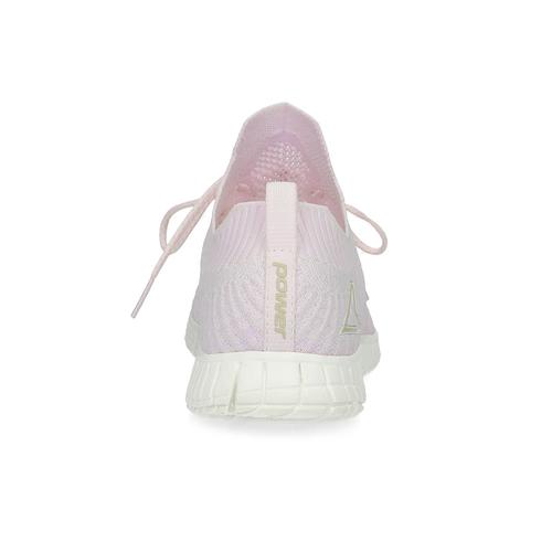 Różowe dzianinowe trampki damskie power, różowy, 509-0211 - 15