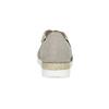 Skórzane sandały oszerokościG gabor, beżowy, 666-8347 - 15