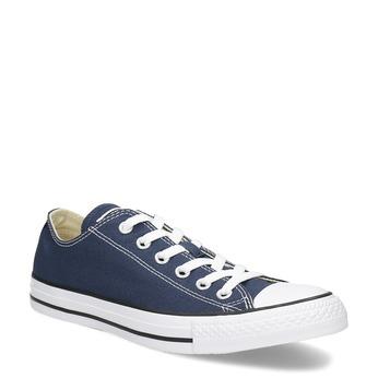 Płócienne trampki damskie zgumowymi noskami converse, niebieski, 589-9279 - 13