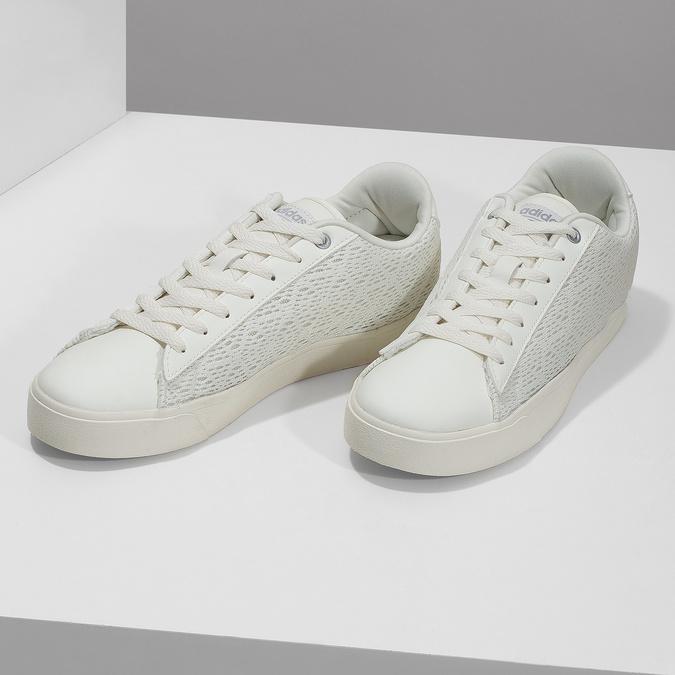Trampki damskie zkoronką adidas, biały, 509-1554 - 16