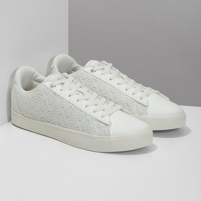 Trampki damskie zkoronką adidas, biały, 509-1554 - 26