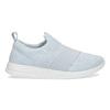 Błękitne trampki typu slip-on adidas, niebieski, 509-2565 - 19