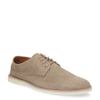 Beżowe nieformalne półbuty męskie bata-red-label, beżowy, 823-8625 - 13