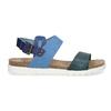 Niebieskie skórzane sandały damskie weinbrenner, niebieski, 566-9643 - 19