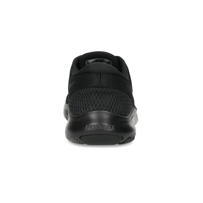 Czarne trampki damskie wsportowym stylu nike, czarny, 509-6850 - 15