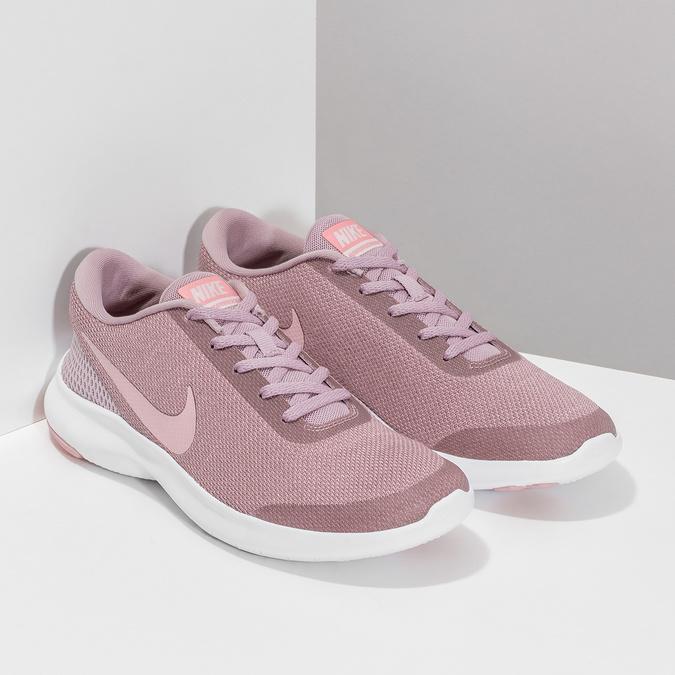 Różowe trampki damskie wsportowym stylu nike, różowy, 509-5850 - 26