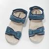Skórzane sandały wstylu outdoor weinbrenner, niebieski, 566-9608 - 16