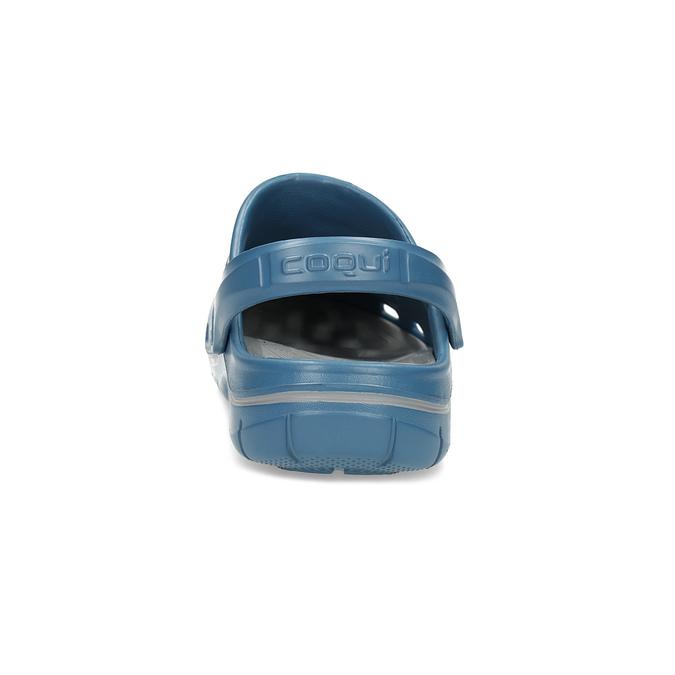Nieformalne klapki męskie wstylu chodaków coqui, niebieski, 872-9654 - 15