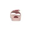 Różowe satynowe klapki zperełkami bata, różowy, 569-5615 - 15