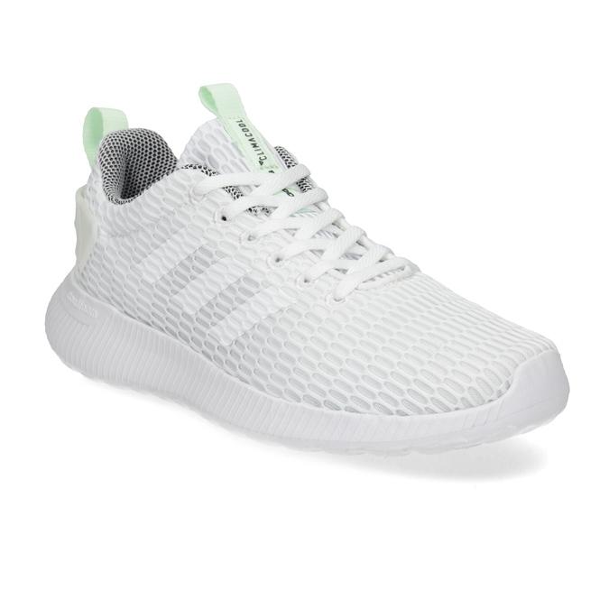 Białe siatkowe trampki adidas, biały, 509-1635 - 13