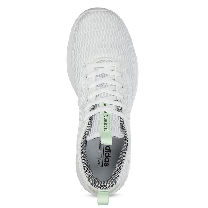 Białe siatkowe trampki adidas, biały, 509-1635 - 17