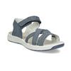 Niebieskie skórzane sandały wstylu outdoor weinbrenner, niebieski, 566-9634 - 13