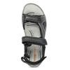 Skórzane sandały męskie na rzepy weinbrenner, szary, 866-2642 - 17