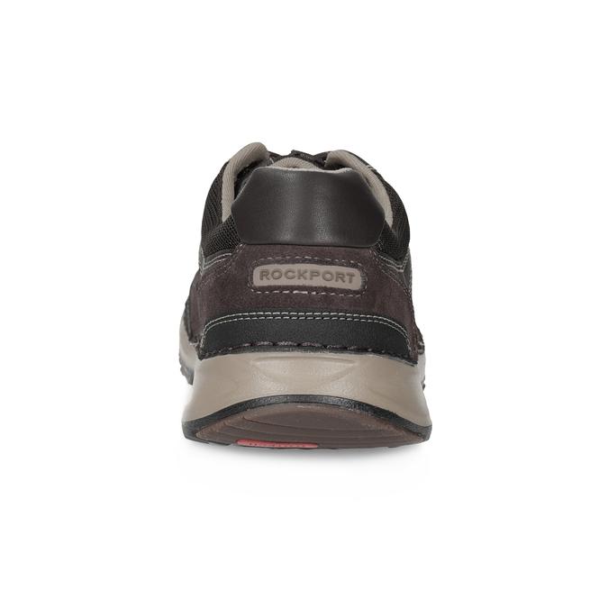 Nieformalne skórzane trampki rockport, brązowy, 826-4006 - 15