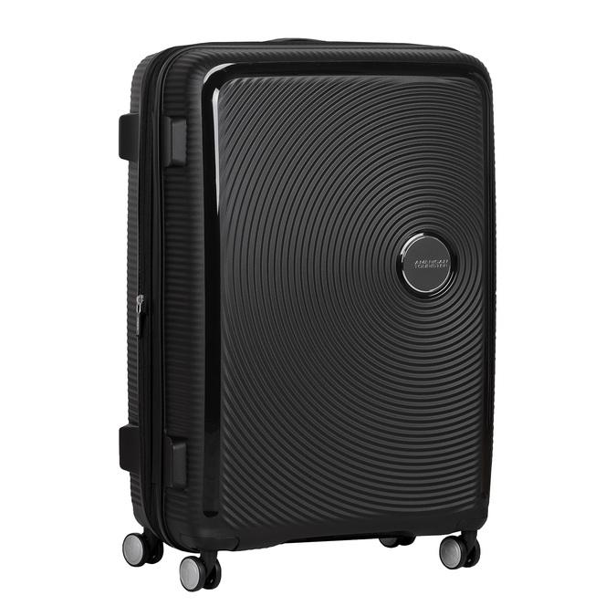 Twarda czarna walizka na kółkach american-tourister, czarny, 960-6613 - 13