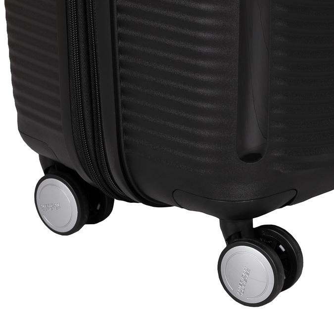 Twarda czarna walizka na kółkach american-tourister, czarny, 960-6613 - 16