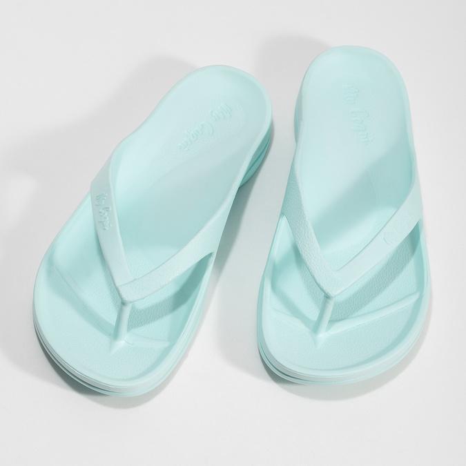 Błękitne japonki damskie coqui, niebieski, 572-9660 - 16