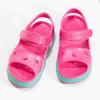 Różowe sandały dziewczęce coqui, różowy, 372-5658 - 16
