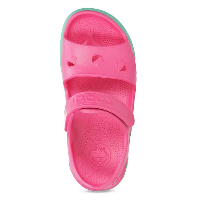 Różowe sandały dziewczęce coqui, różowy, 372-5658 - 17