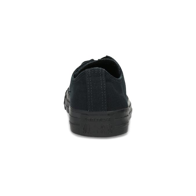 Czarne płócienne trampki damskie converse, czarny, 589-6179 - 15