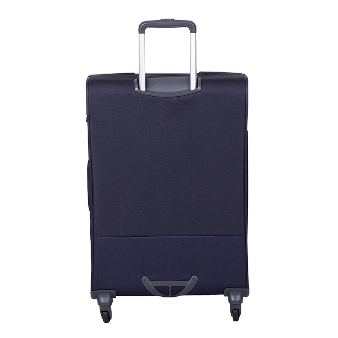 Duża miękka granatowa walizka na kółkach samsonite, niebieski, 960-9042 - 26