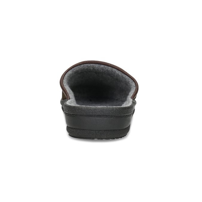 Kapcie męskie bata, brązowy, 879-4600 - 15