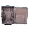 Duża turkusowa walizka na kółkach, zmateriału tekstylnego roncato, niebieski, 969-9719 - 17