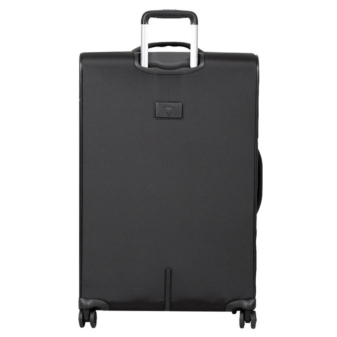 Średnia walizka na kółkach, zmateriału tekstylnego roncato, czarny, 969-6710 - 26