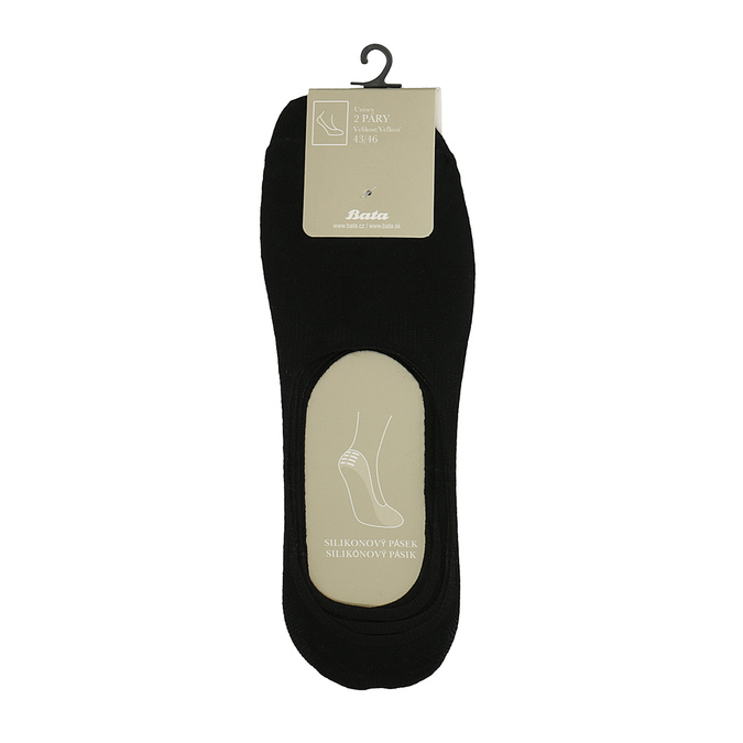 Zestaw czarnych stopek bata, czarny, 919-6818 - 13