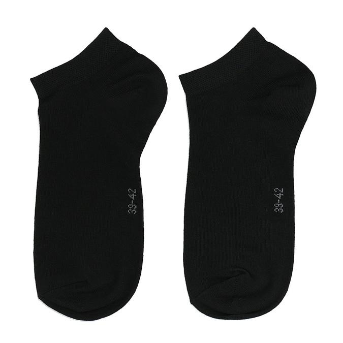 Bawełniane skarpetki damskie do kostek bellinda, czarny, 919-6719 - 26