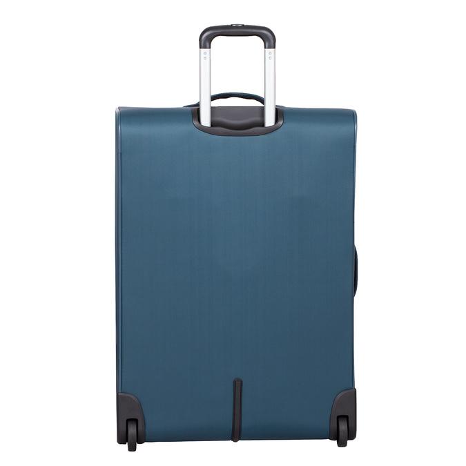 Turkusowa walizka na kółkach, zmateriału tekstylnego roncato, niebieski, 969-9720 - 26
